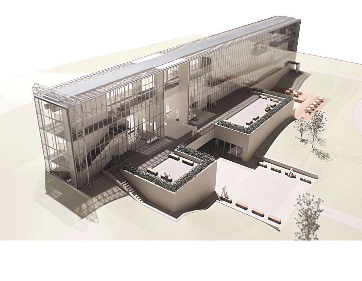 葛西臨海公園展望広場レストハウス 株式会社 谷口建築設計研究所